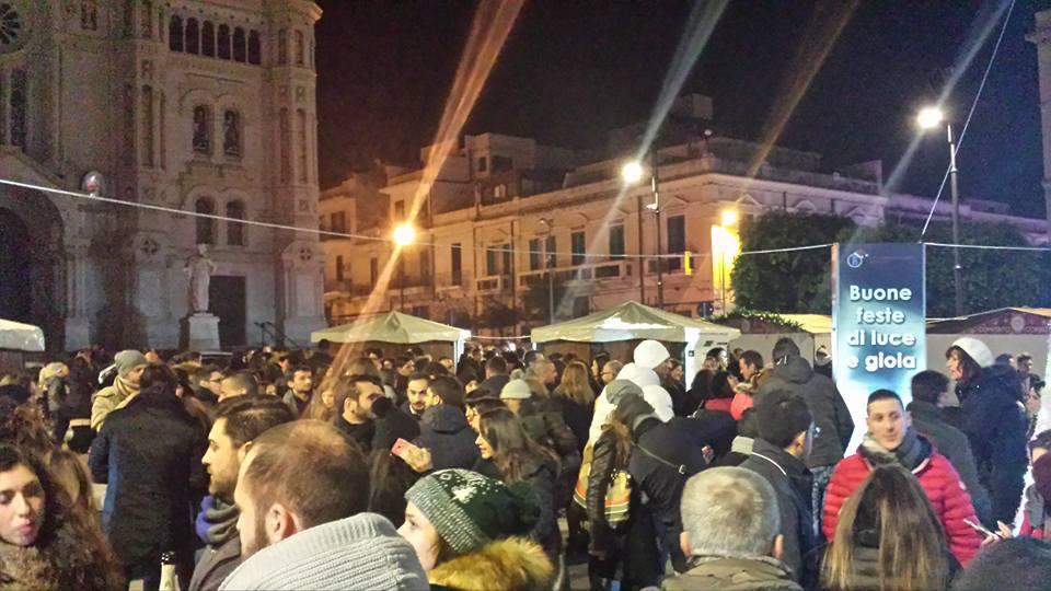 Reggio Calabria, piazza Duomo | Capodanno sotto l'albero | 31/12/2016