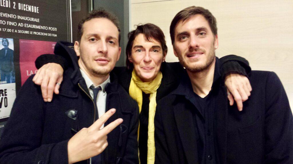 FABIO MOLLO, LUCA MARINELLI | Cittanova | inaugurazione cinema Gentile | 02/12/2015