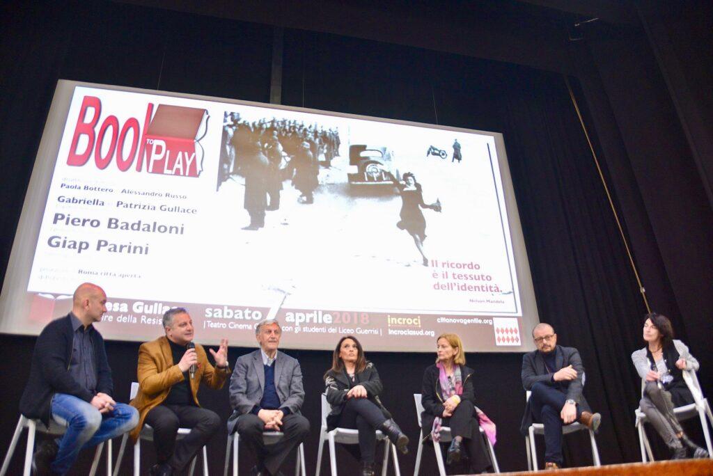 PIERO BADALONI, NIPOTI DI TERESA GULLACE, GIAP PARINI | Cittanova | BookToPlay | 08/04/2018